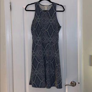 H&M Printed A Line Dress